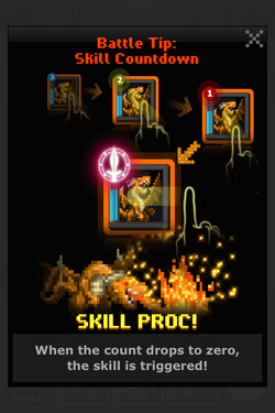 Skill Countdown info