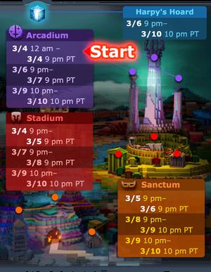 NU schedule