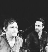 Daryl and Rick