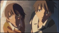 Takaki dan Kanae tercengang
