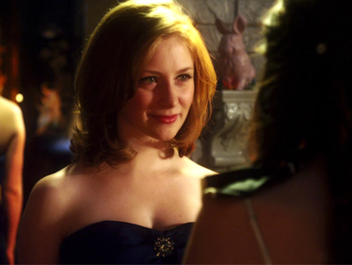 File:Holly J & Fiona Looking At Eachother In Dresses.jpg