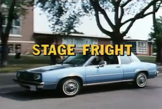 Stage Fright - Title Card