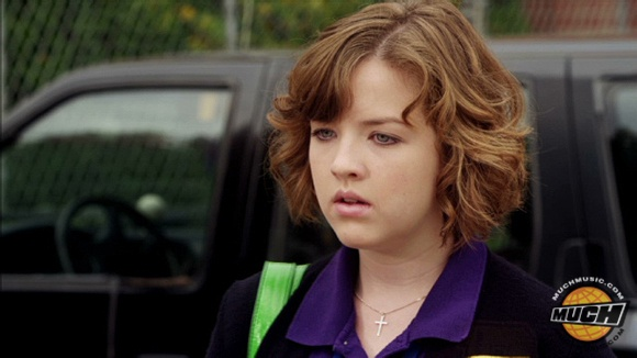 File:Clare In Her Degrassi Uniform Looking At Eli With A Concerned Look On Her Face.jpg