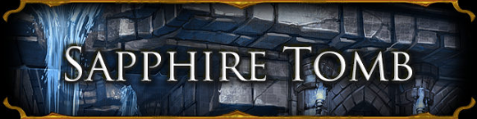 Sapphire Tomb Banner