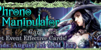 Chrono Manipulator Card Pack