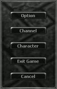 Interface Mainmenu