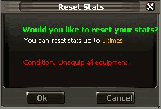 Inerface Reset Status