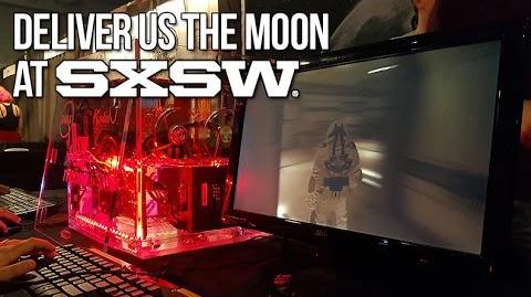 DELIVER US THE MOON AT SXSW! KeokeN Interactive