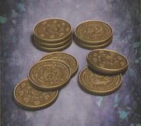 Ten gold coins