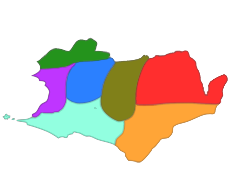 Map of all Territories