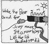 Wake the bear rhyme FoS