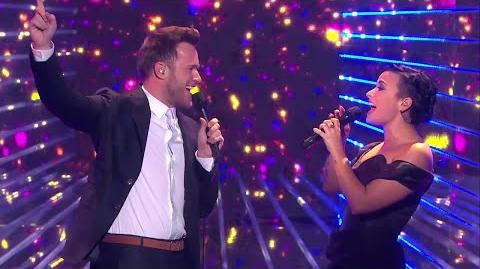 """Olly Murs & Demi Lovato """"Up"""" guests at X Factor UK 2014"""