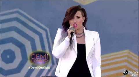 Demi Lovato - Neon Lights │LIVE On GMA 2014│