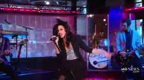 Demi Lovato - Here We Go Again (Live On Good Morning America) 07 23 09 (HQ)