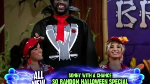 Sonny With A Chance So Random Halloween Shaq'ula Video