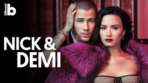 Demi Lovato & Nick Jonas One Day in The Orpheum Theatre, Behind the Scenes Billboard's Cover Shoot