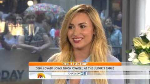 Demi Lovato - Interview at the Today Show (5th September 2012)