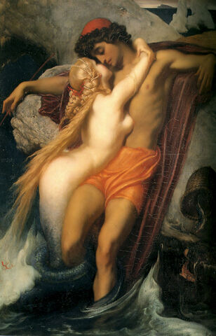File:The Fisherman and the Syren-c - 1856-1858 by Leighton, Frederic.jpeg