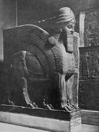 Portal Guardian from Nimroud. British Museum