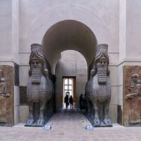 Human-headed Winged Bulls Gate - Louvre