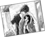 Together under rain