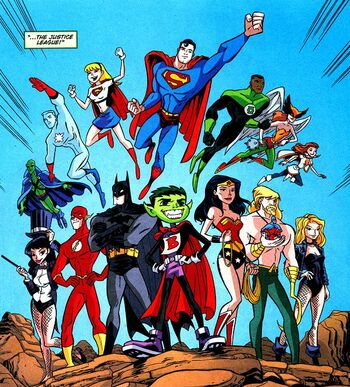Justice League (Teen Titans)