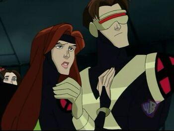 Cyclops and Jean (X-Men Evolution)