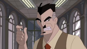 J Jonah Jameson (Spectacular Spider-Man)