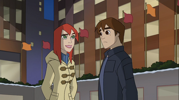 Peter and Mary Jane (Spectacular Spider-Man)2