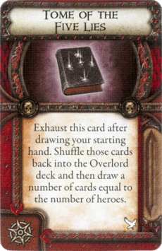 Overlord Relic - Tome of the Five Lies