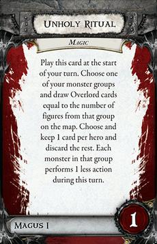 Overlord Card - Unholy Ritual