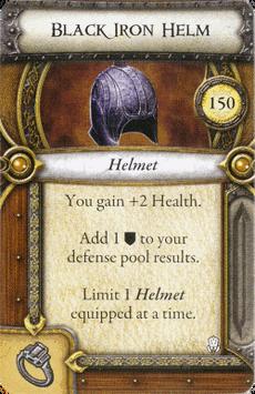 Act II Item - Black Iron Helm