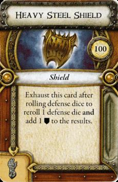Act II Item - Heavy Steel Shield