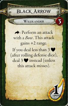 Wildlander - Black Arrow