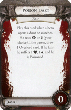 Overlord Card - Poison Dart