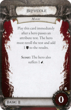 Overlord Card - Befuddle
