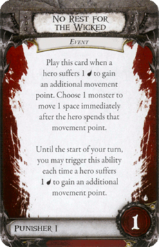 Overlord Card - No Rest for the Wicked
