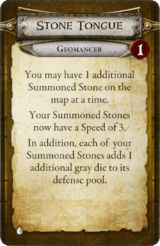 Geomancer - Stone Tongue