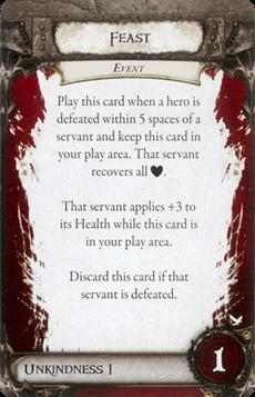 Overlord Card - Feast