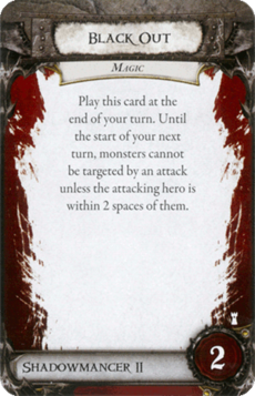 Overlord Card - Black Out