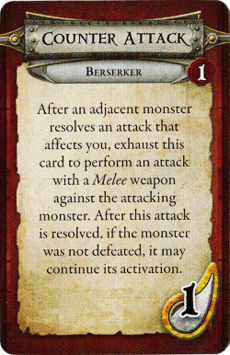 Berserker - Counter Attack