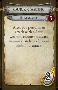 Runemaster - Quick Casting