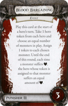 Overlord Card - Blood Bargaining