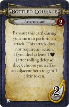 Apothecary - Bottled Courage