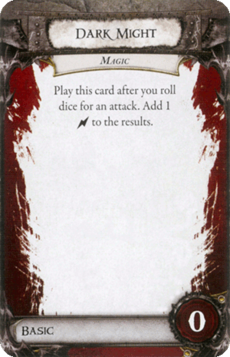 Overlord Card - Dark Might