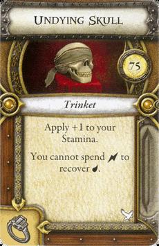 Act I Item - Undying Skull