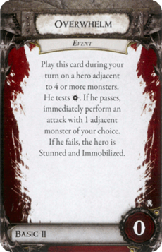 Overlord Card - Overwhelm