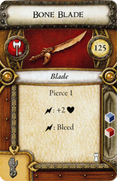 Act I Item - Bone Blade