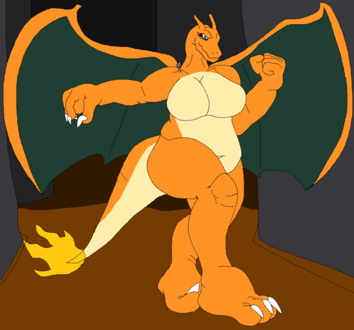 File:Charizard pretending to be giant.png