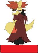 Male Delphox NFC